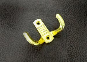 Крючки мебельные | Крючок 2 Нактоли золото
