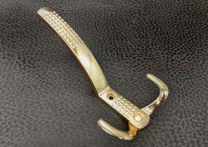 Крючки мебельные | Крючок 3 Нактоли золото