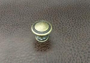 Ручки мебельные | Ручка 33 кнопка бронза