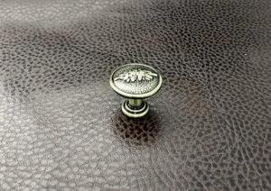 Ручки мебельные | Ручка кнопка 48 бронза