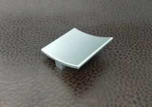 Ручки мебельные | Ручка кнопка К7 металлик