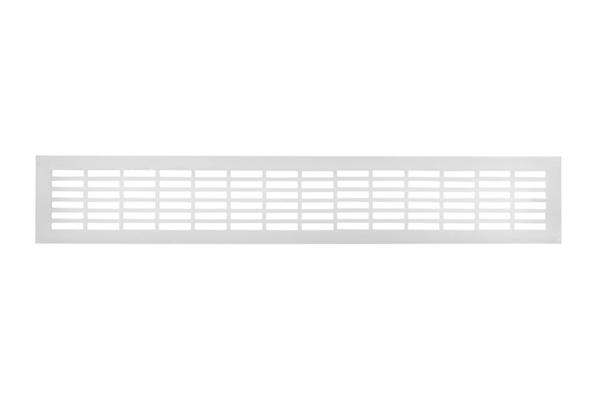 Вентиляционная решетка 80х480 белый