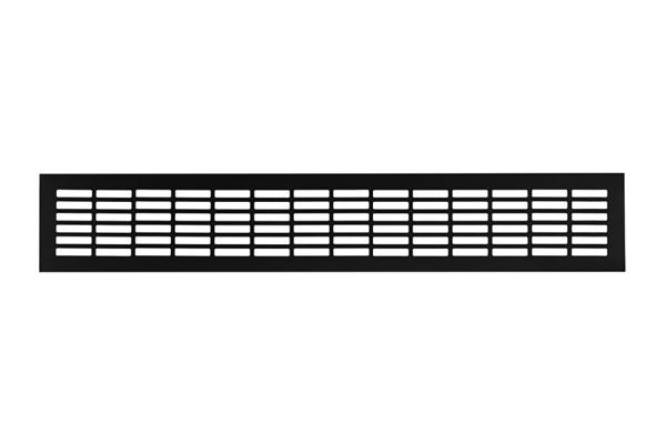 Вентиляционная решетка 80х480 черный